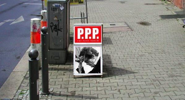 P.P.P. Pier Paolo Pasolini