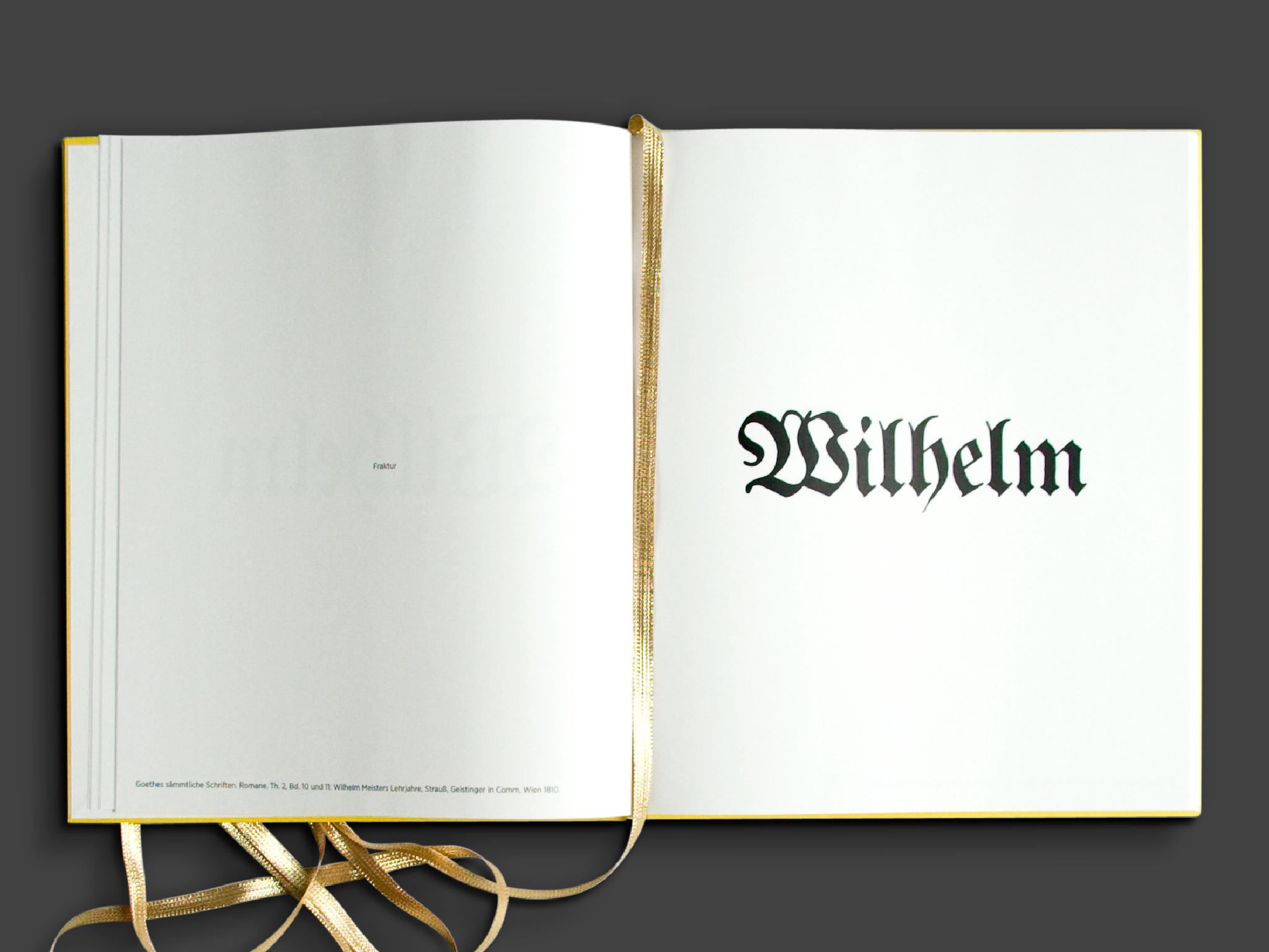 Showing Wilhelm Meister