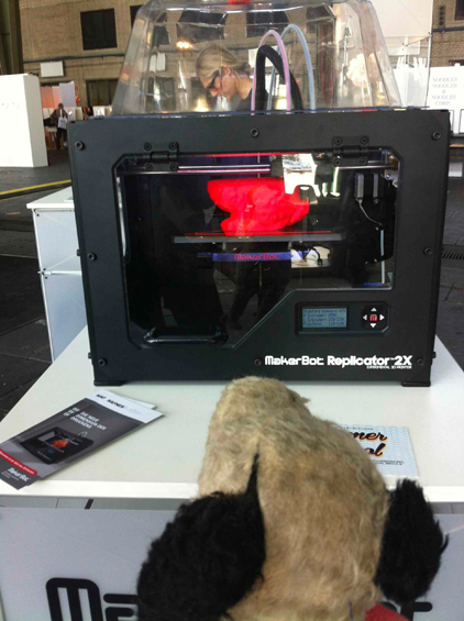 The MakerBot 3-D Printer