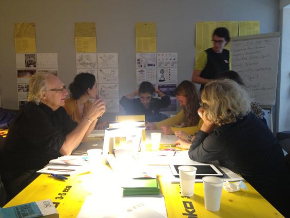 We-Traders Forum in Lisbon: Workshop with guest Claus Leggewie Photo: Jürgen Willinghöfer