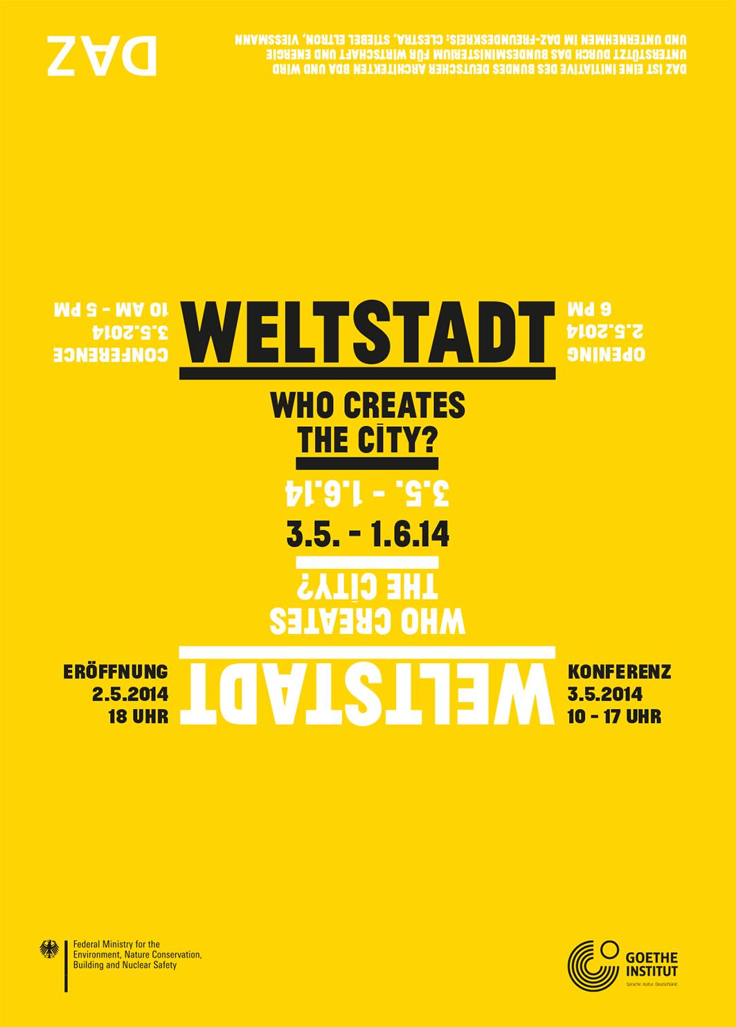 Weltstadt Flyer
