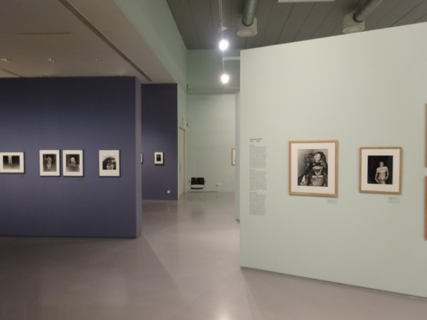 View of the Jeffrey Silverthorne exhibition at FoMu