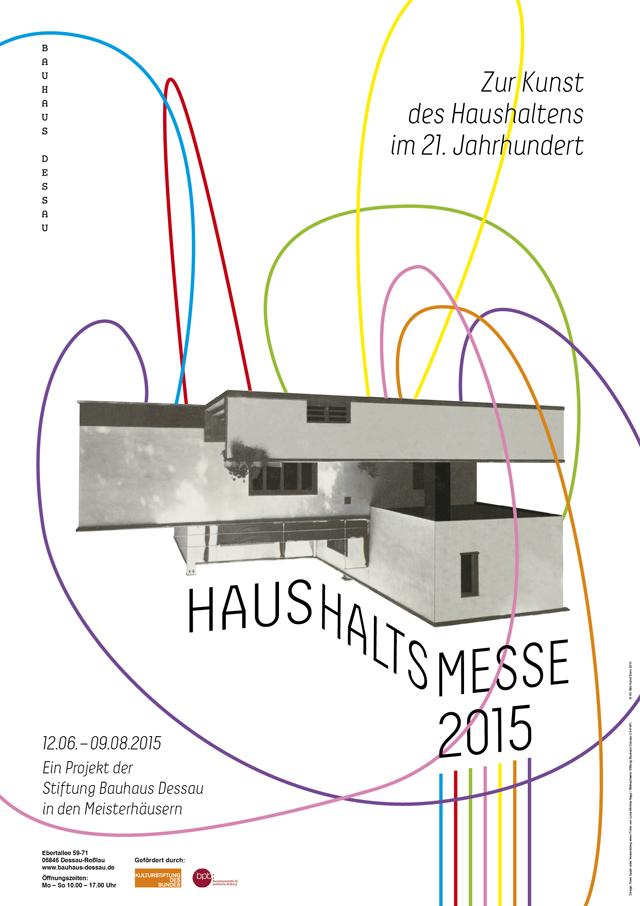 Haushaltsmesse 2015 Poster by Rose Apple